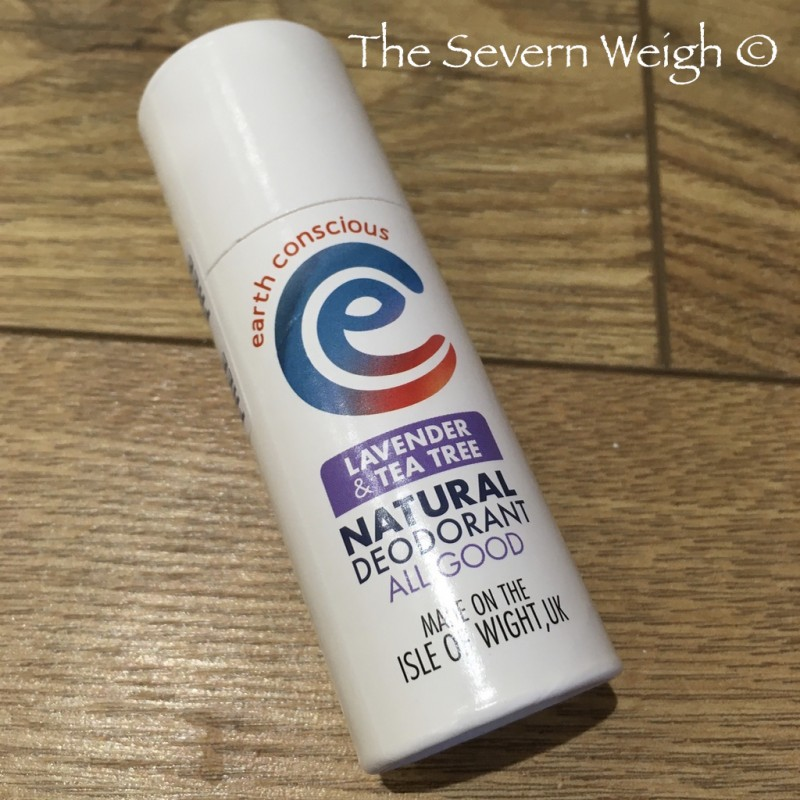 Earth Conscious: Lavender & Tea Tree Natural Deodorant Stick