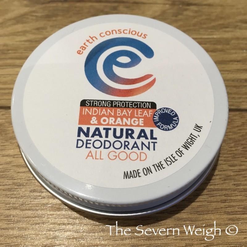 Earth Conscious: Indian Bay Leaf & Orange Natural Deodorant Tin