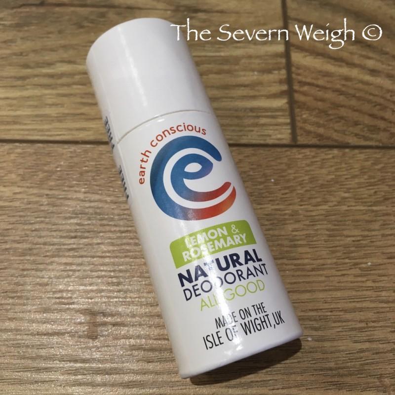 Earth Conscious: Lemon & Rosemary Natural Deodorant Stick