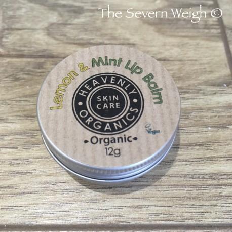 Lip Balm: Lemon & Mint (Heavenly Organics)