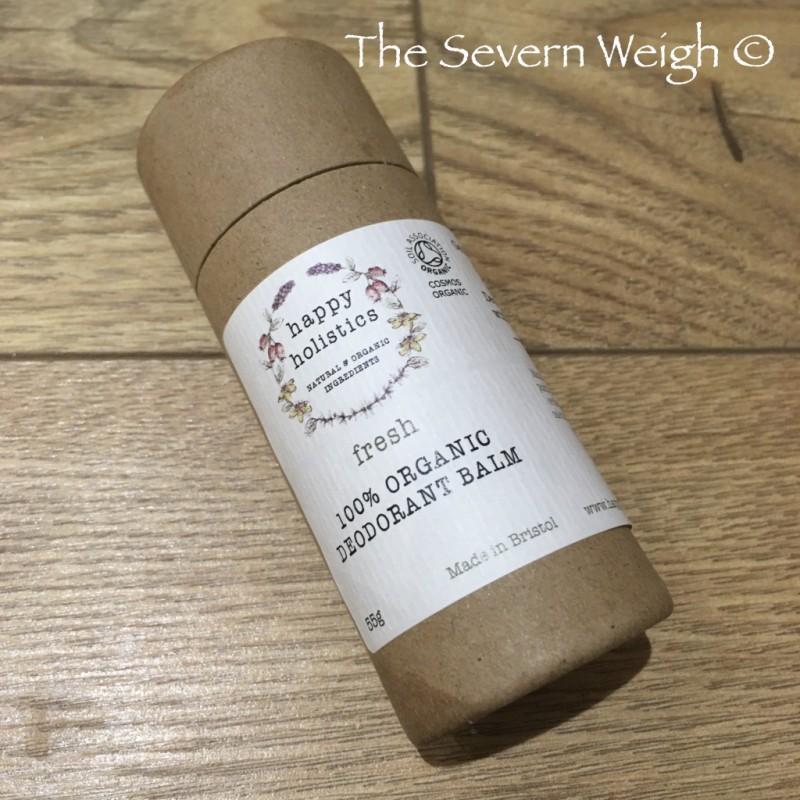 Happy Holistics Organic Natural Deodorant: Fresh Scent (bicarb free)