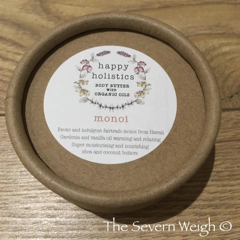 Happy Holistics Body Butter Monoi (Gardenia & Vanilla) Organic 87%