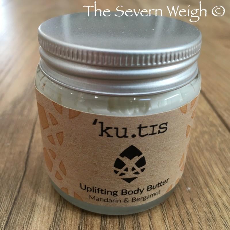 Ku.tis Body Butter: Uplifting - Mandarin & Bergamot