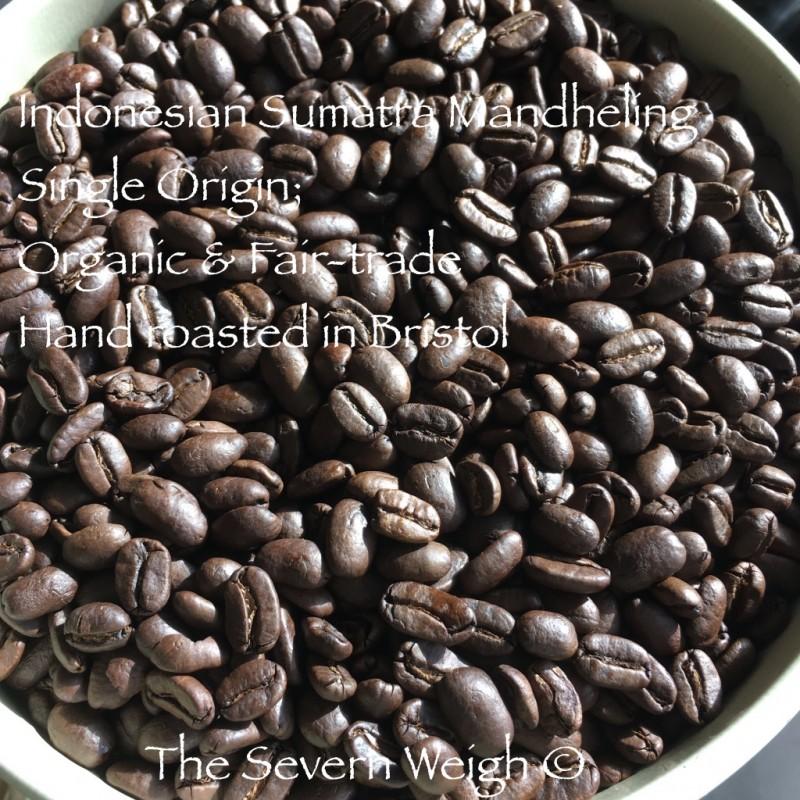 Indonesian Sumatra Mandheling Coffee Organic Fair-trade