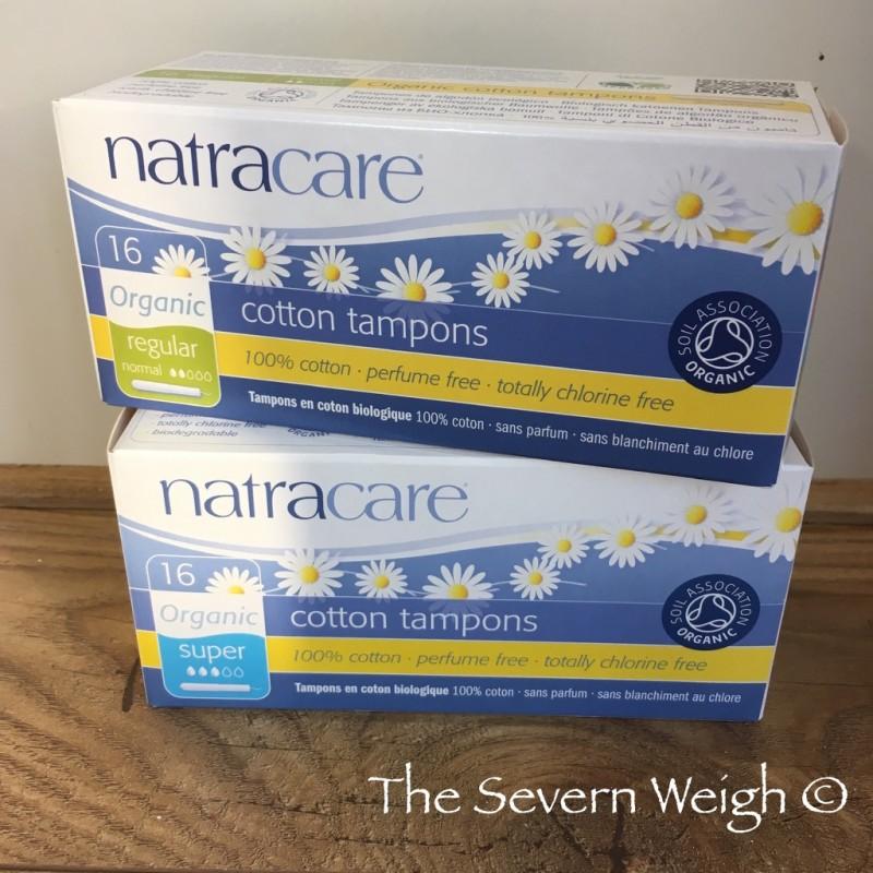 Natracare 100% Organic Cotton Applicator Tampons (plastic free)