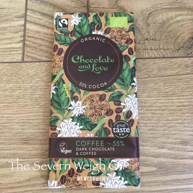 Chocolate and Love Dark Chocolate & Coffee, Organic
