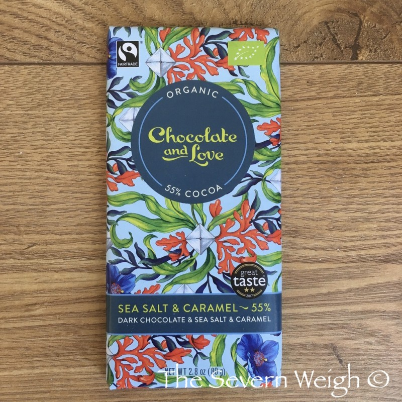 Chocolate and Love 55% Sea salt & Caramel, Organic
