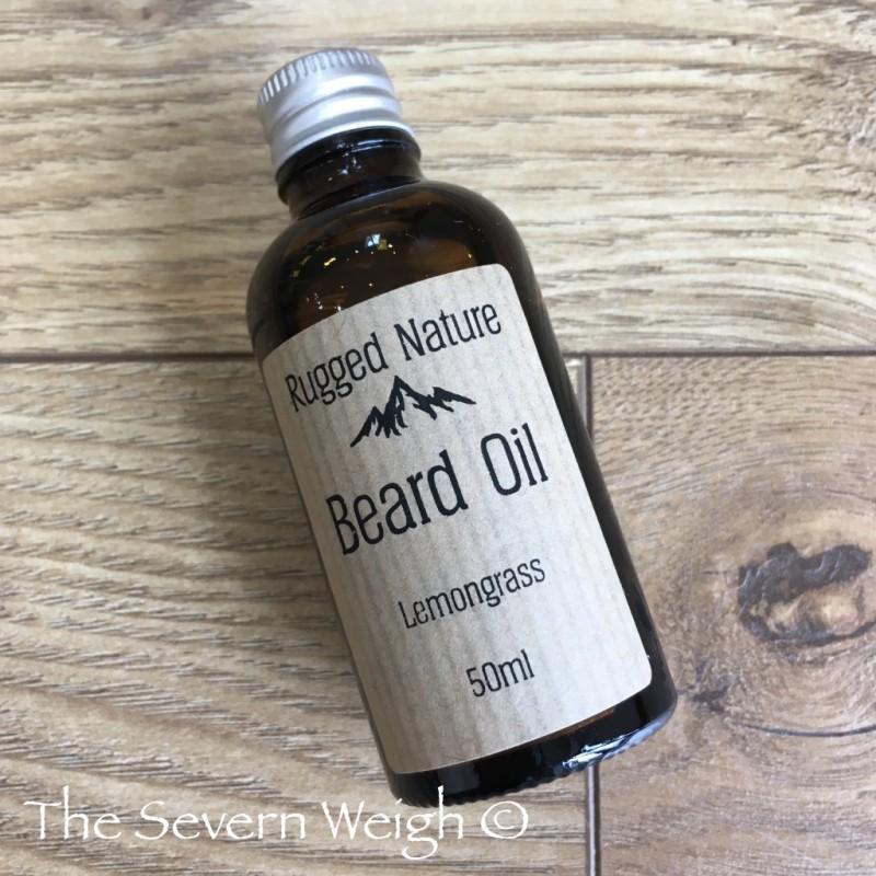 Beard Oil, Lemongrass: Rugged Nature