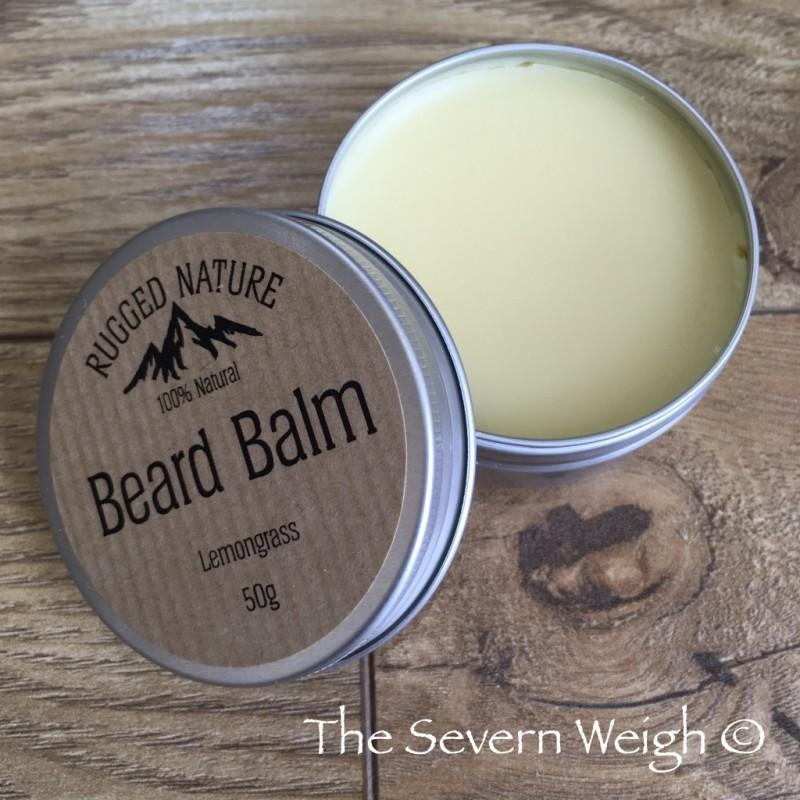 Beard Balm, Lemongrass: Rugged Nature