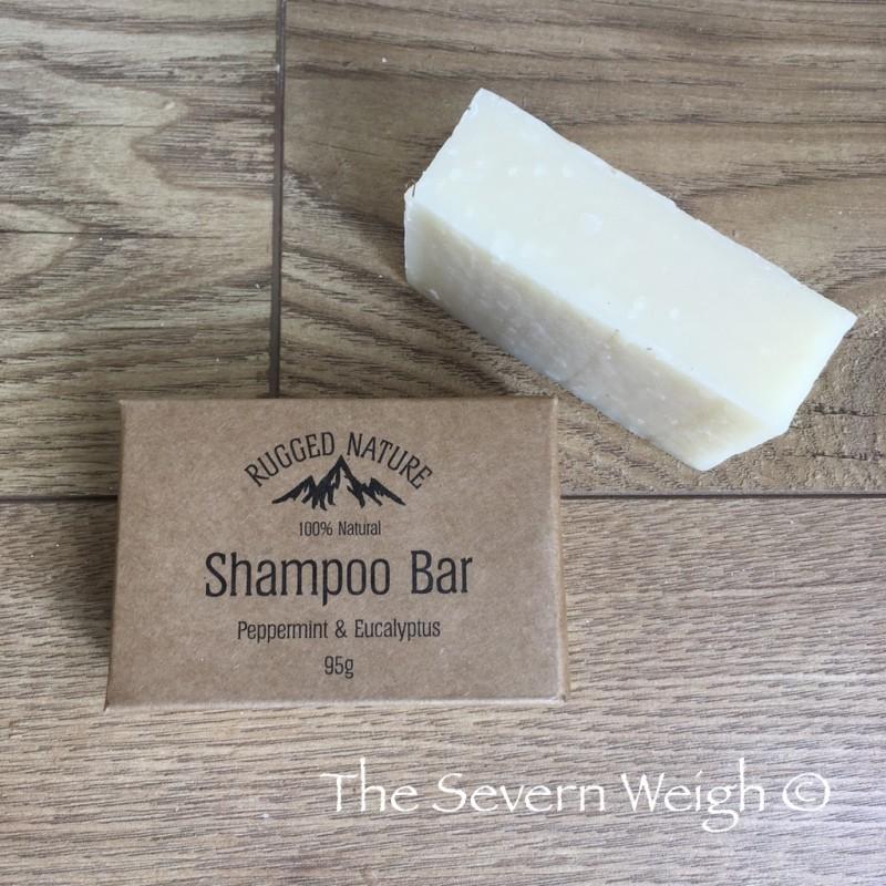 Invigorating Shampoo Bar: Rugged Nature