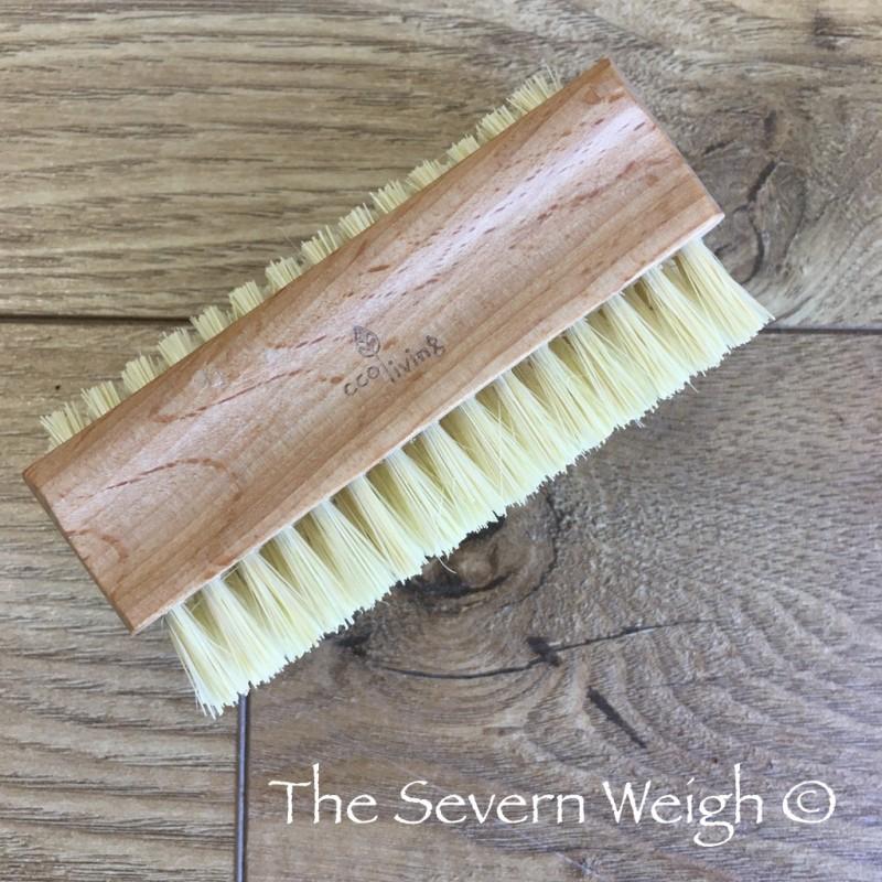 Nail Brush Beech Wood, Plant Bristles