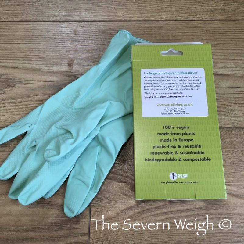 Gloves Natural Latex Rubber, aqua