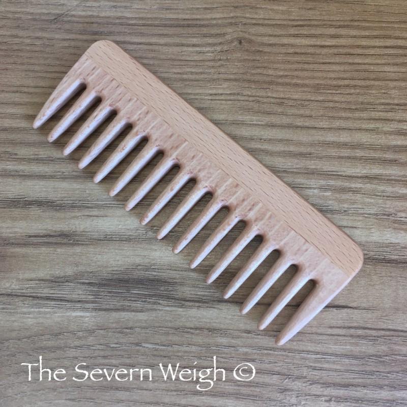 Beechwood Hair Styling Comb