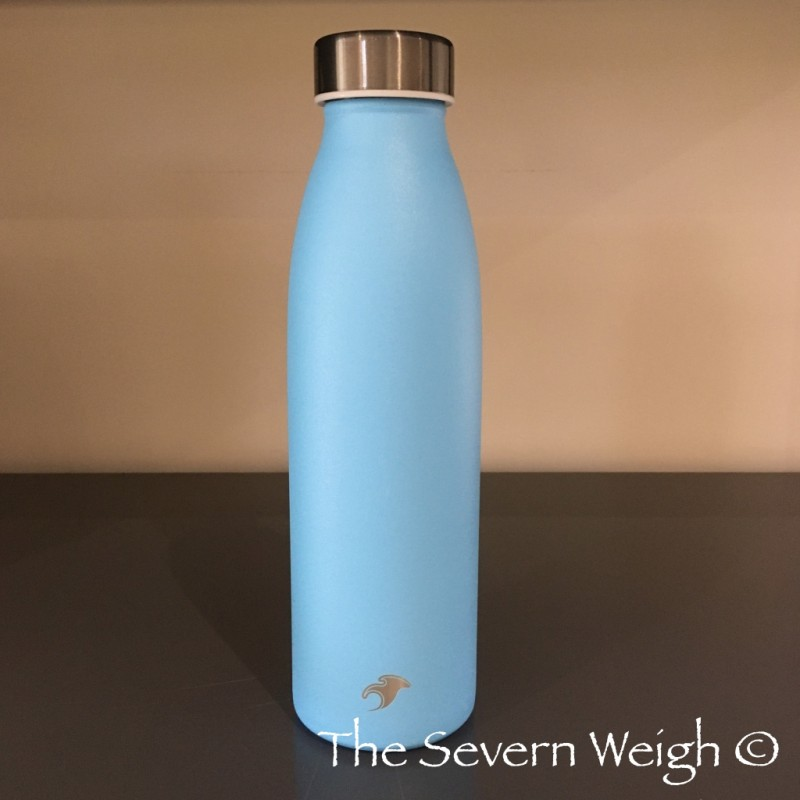 500ml Sky Blue Stainless Steel 304 Thermal Water Bottle, OGB