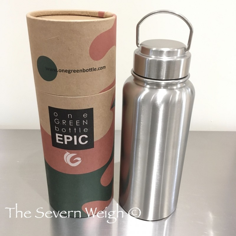 1 Litre Epic Stainless Steel 304 Thermal Canteen Water Bottle, OGB