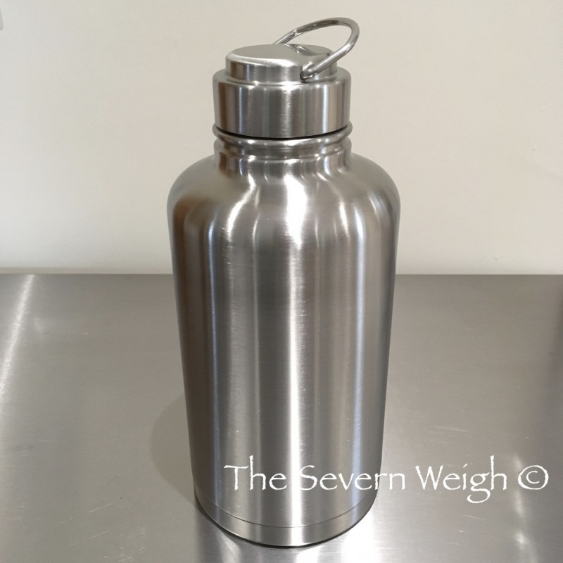 2 Litre Epic Stainless Steel 304 Thermal Canteen Water Bottle, OGB