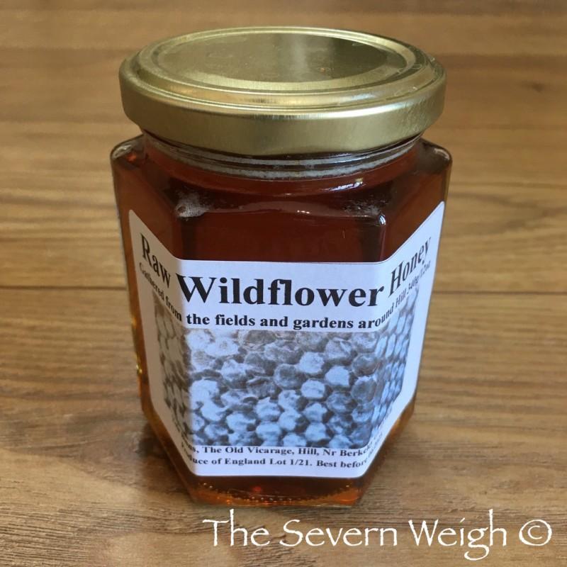 Local Raw Wildflower Honey - Hill