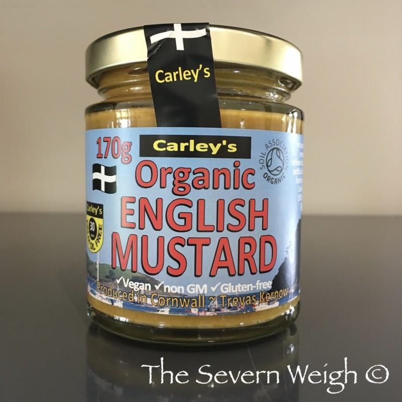 English Mustard, Organic, Carley's