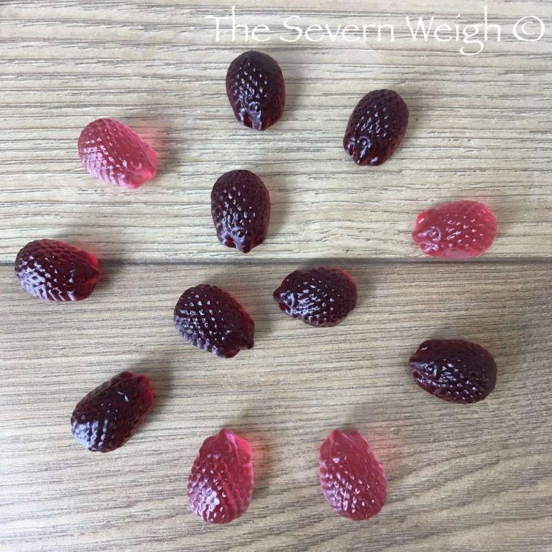 Jelly-gummies: Vegehogs Organic Apple Berry Sweets, Vegan