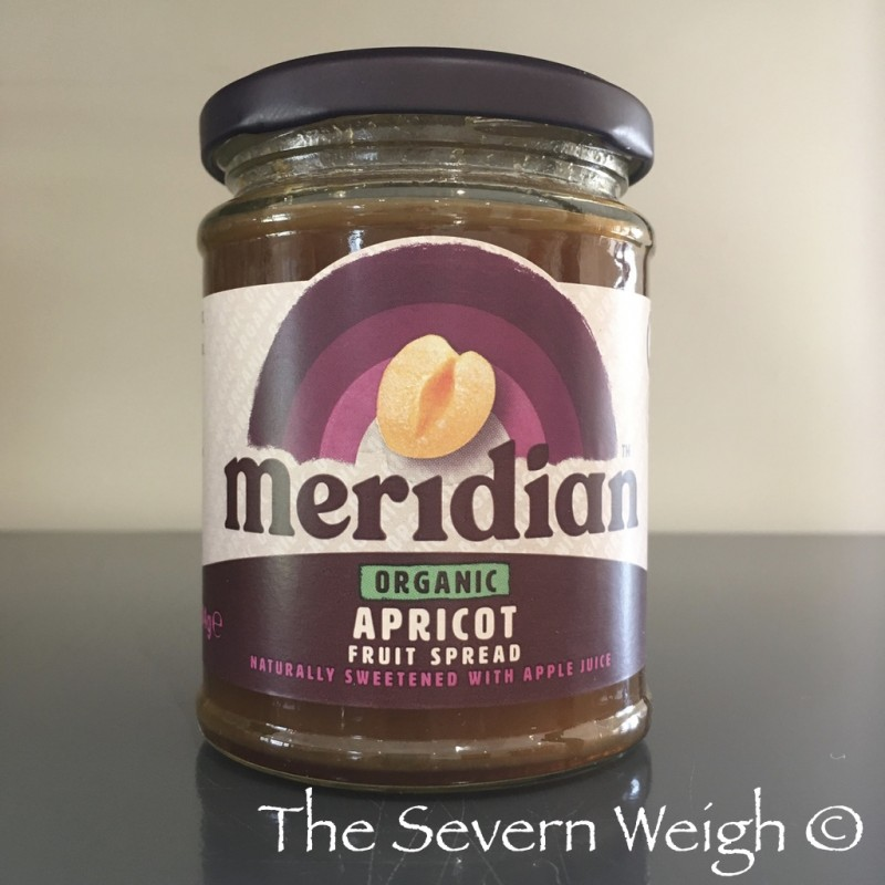 Apricot Fruit Spread, Organic, Meridian