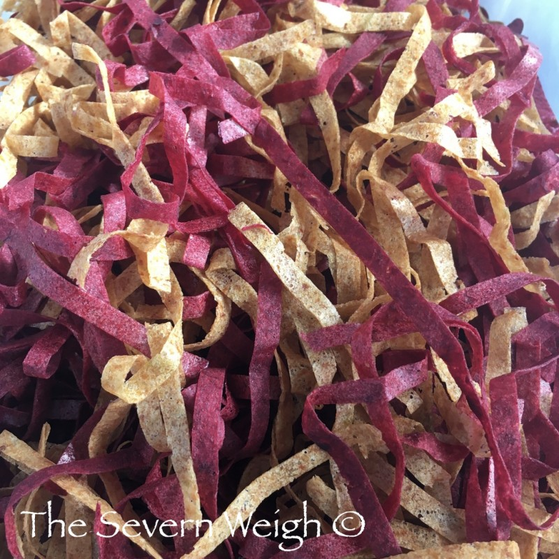 Apple Shreds - Hint of Blackcurrant (100% Natural Fruit Leathers)