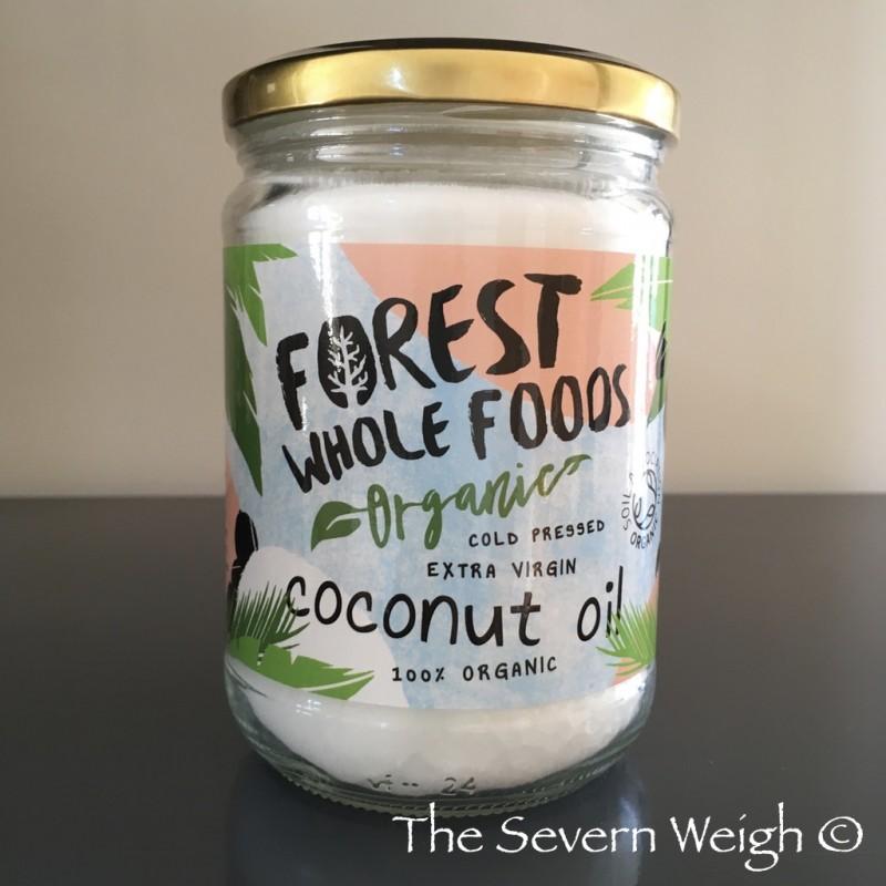 Coconut Oil Extra Virgin Cold Pressed Organic