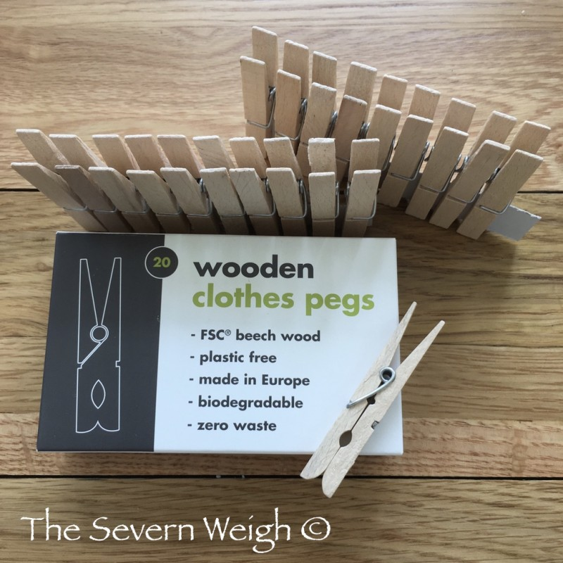 Wooden Clothes Pegs - 20 pack