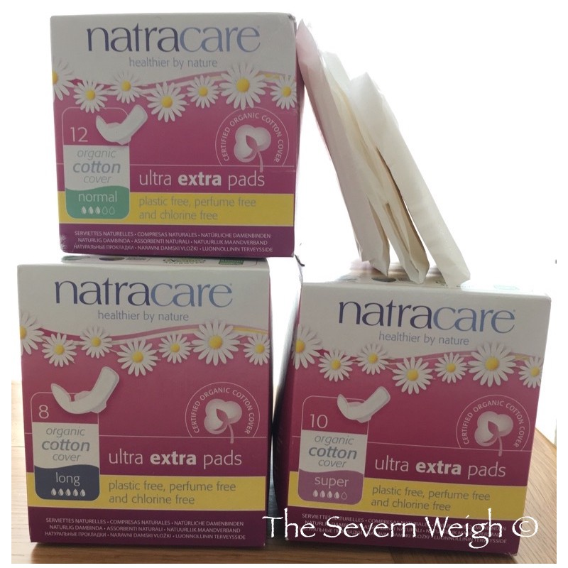 Natracare Sanitary Pads Ultra Extra Organic Cotton Cover (plastic free)