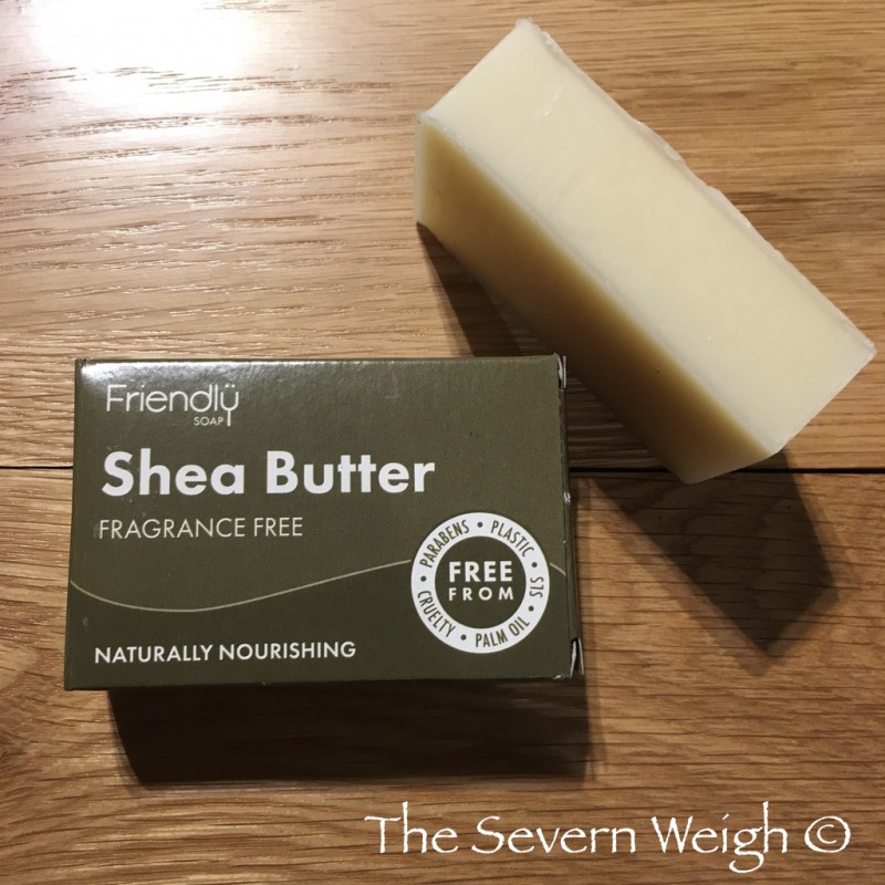 Cleansing Bar Shea Butter, Unscented, Friendly Soap