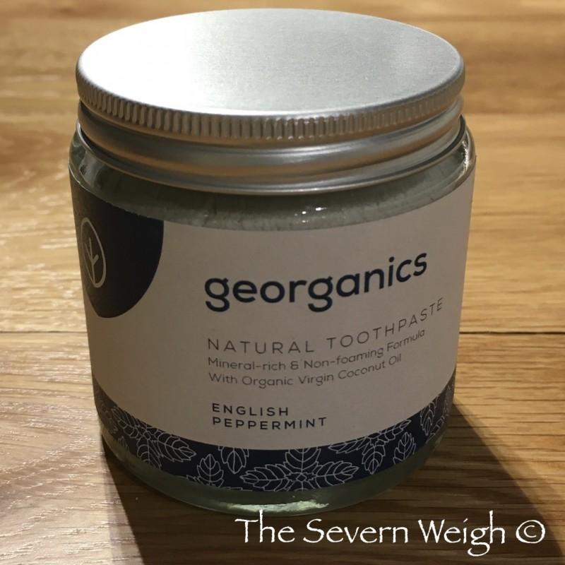 Georganics Mineral Toothpaste Peppermint Fluoride Free 120ml