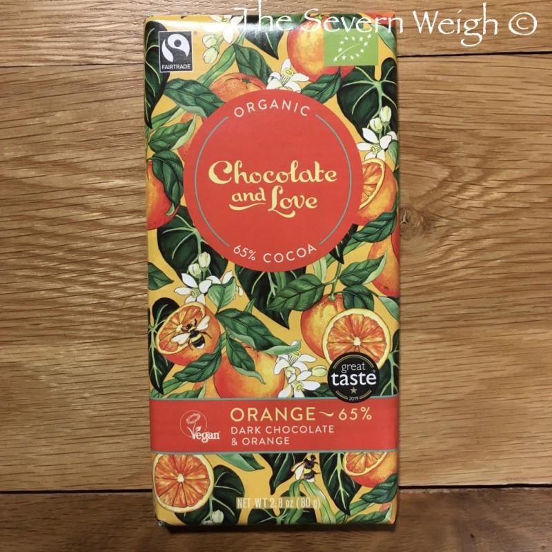 Chocolate and Love Orange Dark 65% Organic