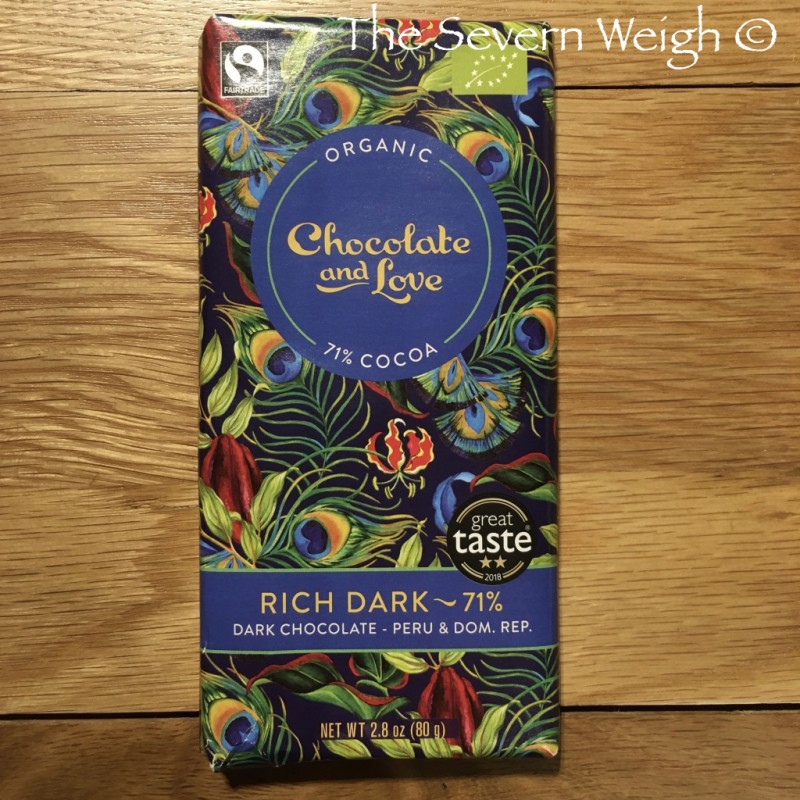 Chocolate and Love Rich Dark 71% Organic