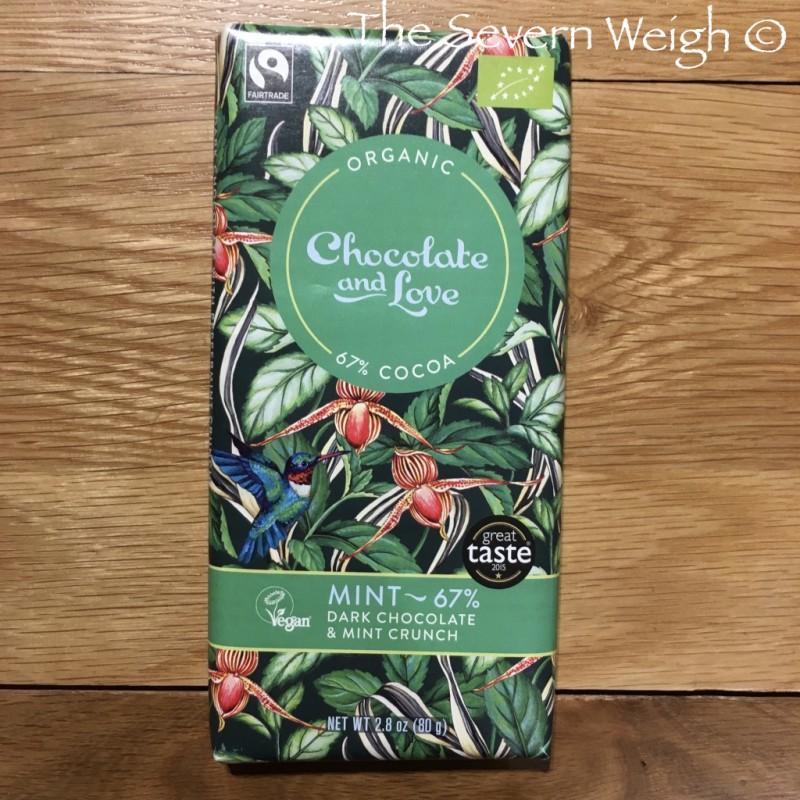 Chocolate and Love Mint Dark 67% Organic