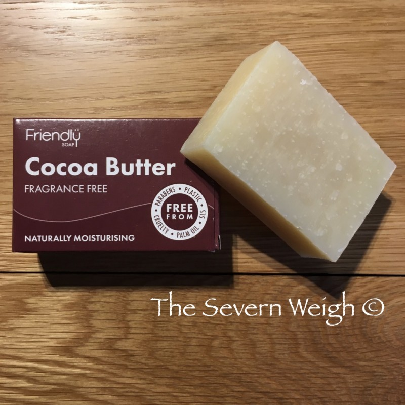 Cocoa Butter Cleansing Bar, Unscented, Friendly Soap