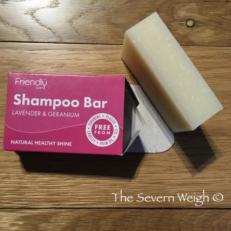 Lavender & Geranium Shampoo Bar, Friendly Soap