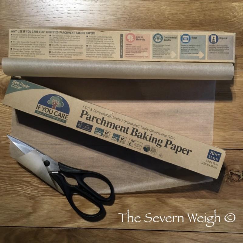 Baking Parchment Unbleached FSC