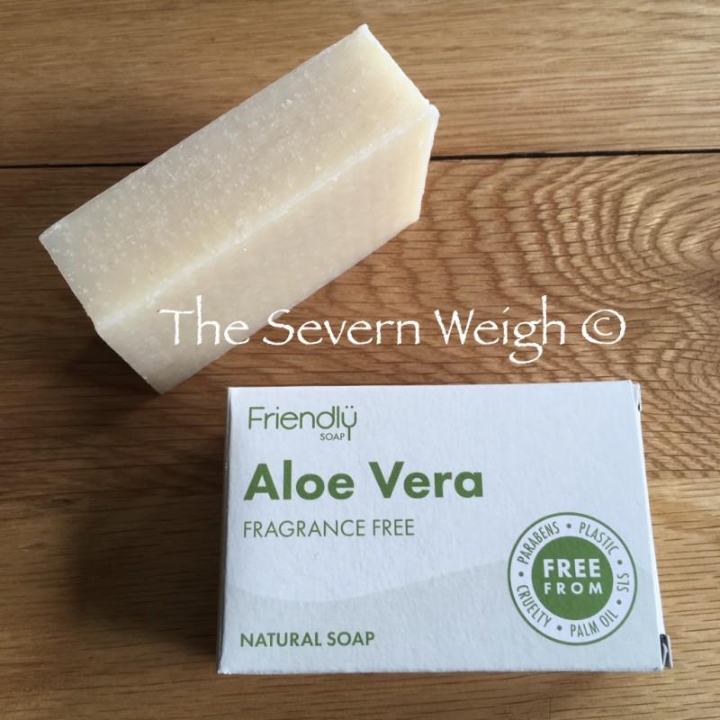Aloe Vera Fragrance Free, Friendly Soap