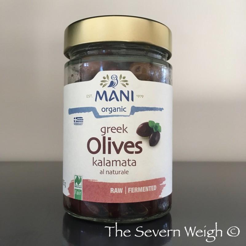 Greek Kalamata Olives in extra virgin olive oil Organic
