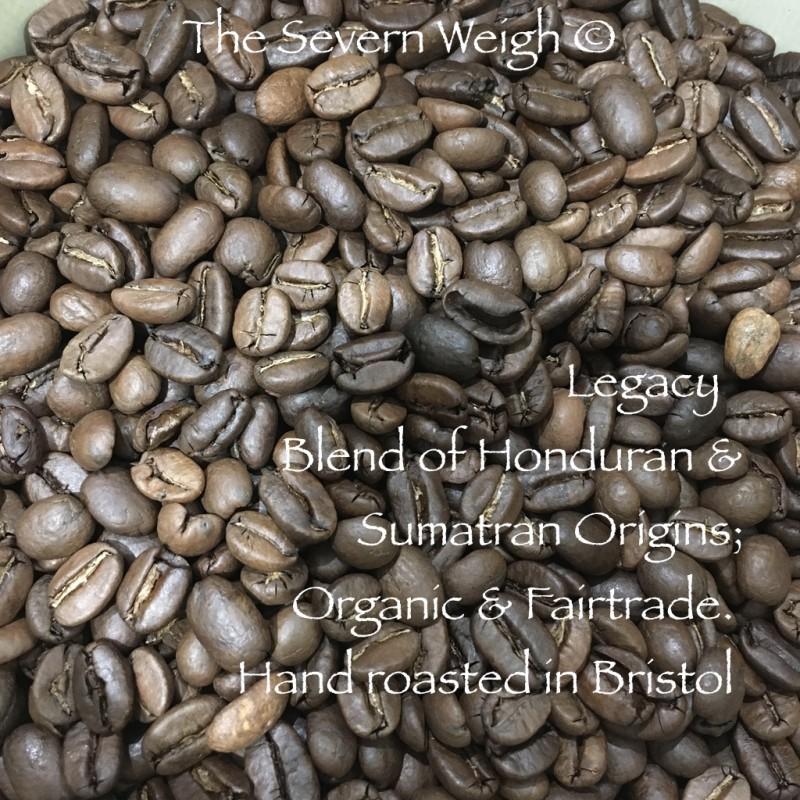 Legacy Blend (Honduran & Sumatran Origins) Coffee Organic Fair-trade