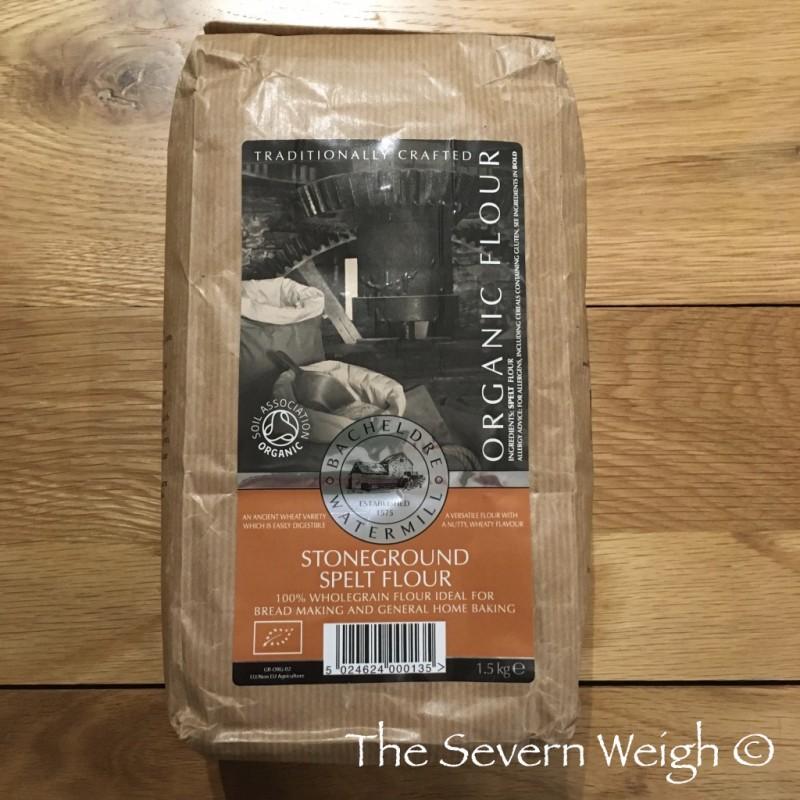 Stoneground Spelt Wholegrain Flour - Bacheldre Organic 1.5kg