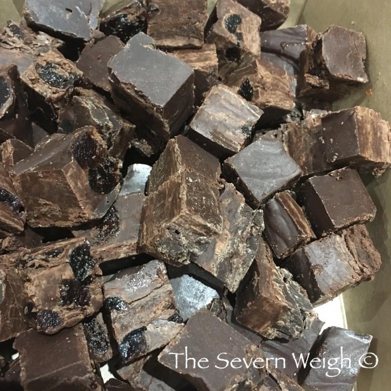 Artisan Vegan Fudge Black Cherry & Chocolate