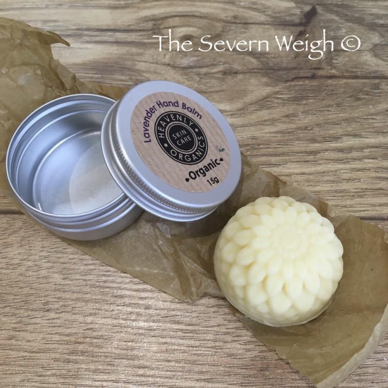 Hand Balm Solid: Lavender (Heavenly Organics)