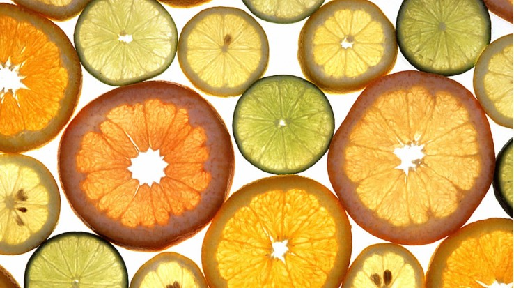Waxes and Pesticides on Citrus Peels